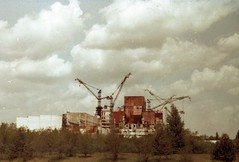 Chernobyl (*Julius*) Tags: 35mm energy crane accident fsu radiation nuclear 11 ukraine disaster unfinished zenit powerplant atomic reactor ussr chernobyl ukraina chornobyl commiecamera indusrtialdecay tsernobyli