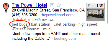 Powell Hotel reputation issue in Descriptive Terms