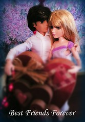 "Gavin and Niamh - ""Best Friends Forever"" (Livdollcity) Tags: moxie teenz gavin tristen doll dolls mga valentine valentines day friends romance diorama"