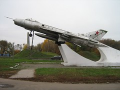 """Sukhoi Su-7B Fitter 2 • <a style=""""font-size:0.8em;"""" href=""""http://www.flickr.com/photos/81723459@N04/33007587795/"""" target=""""_blank"""">View on Flickr</a>"""