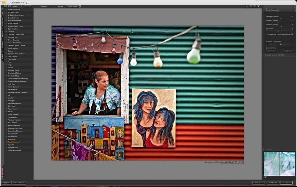 Color Efex Pro 3.0- Tonal Contrast