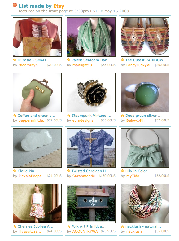 etsy front page may 21