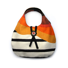 Rainbow Shoulder Bag (weggart) Tags: bag handmade clothbag weggart