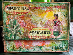 """Vintage duchess"" (Framboisine Berry) Tags: altered watercolor tin paint box mixedmedia can jewel"