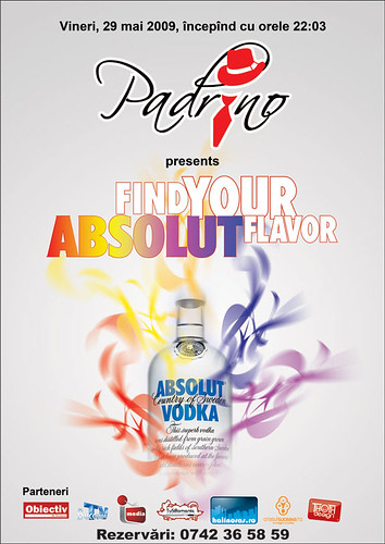 29 Mai 2009 » Find your Absolut flavor