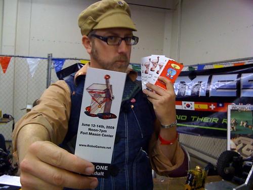 Robogames tickets