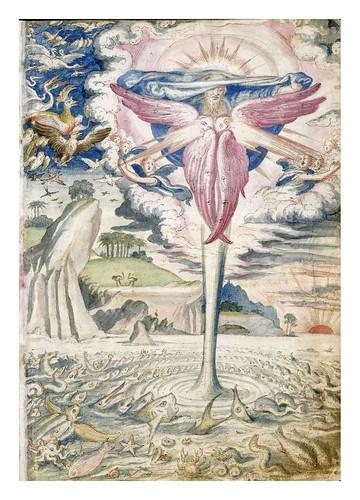 005-Genesis quinto dia-De Aetatibus Mundi Imagines