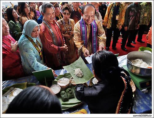 Kaamatan Festival Open House - Rumah Terbuka Kaamatan 2009 Padang Merdeka Kota Kinabalu, TPM DPM