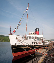 PS Maid of the Loch (Sea Pigeon) Tags: scotland paddle loch lomond steamer balloch maidoftheloch vertorama