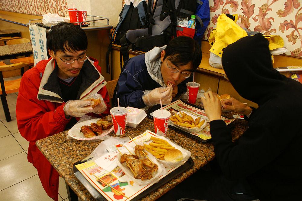 南湖大山day5-126 雞肉餐
