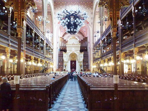 Budapest in Hungary - The Synagogue #6