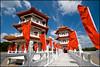 Twin Pagodas (Souvik_Prometure) Tags: pagoda singapore chinesenewyear chinesegarden sigma1020mm nikond80 souvikbhattacharya