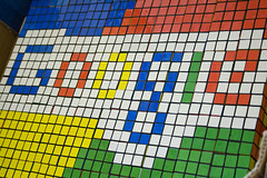 Google in rubic cubes