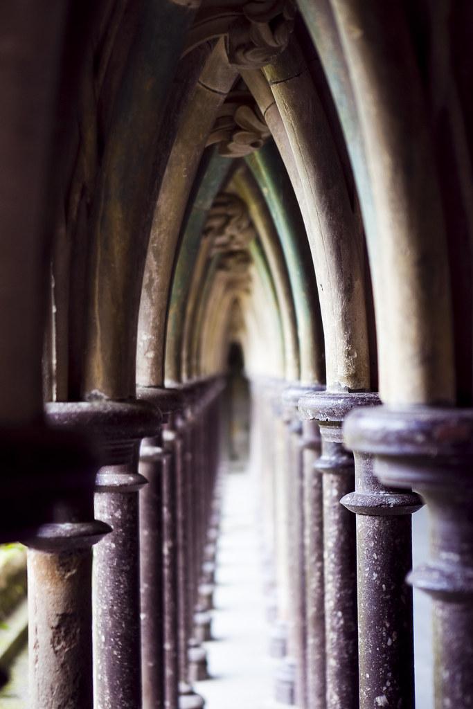 Mont Saint-Michel - Arches