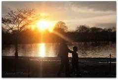Dad Day Is Everyday! (Ronaldo F Cabuhat) Tags: sunset tidalbasin canonefs1855mmf3556 eosdigitalrebelxti cabuhat daddayiseveryday