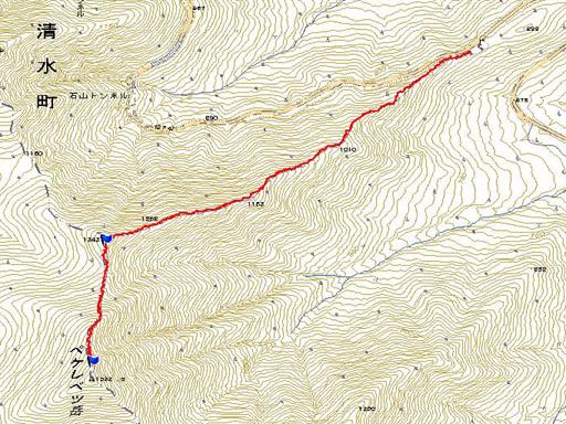 ペケレベツ岳090621