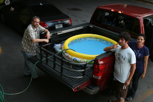 Kiddie Pool In The Titan
