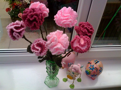 Carnations in the Conservatory.