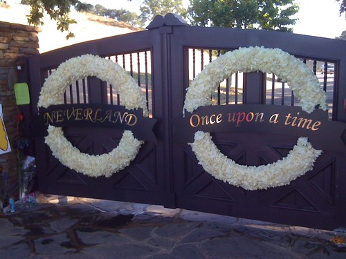 Photo of Neverland main gate