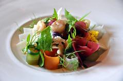 Marv med syltede grøntsager