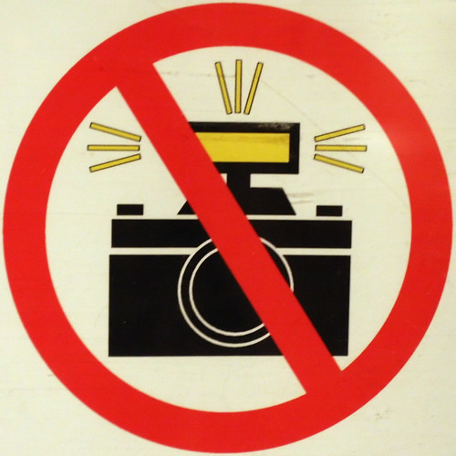 No Photography In Museums