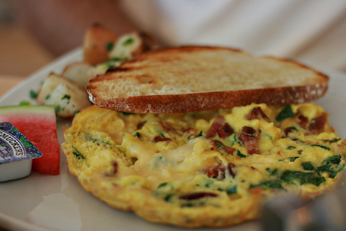 Havarti Bacon Spinach Frittata