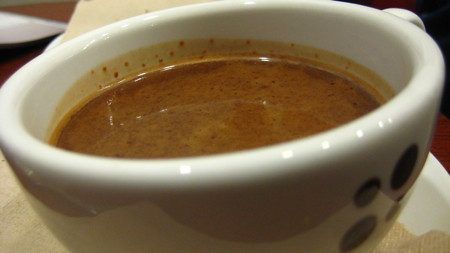 Cayenne Hot Chocolate, Suite 88 in Montreal