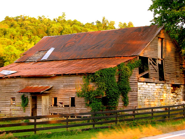 old Sterchi's barn