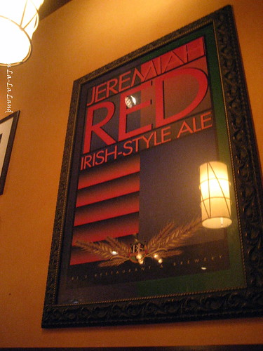 BJ's Huntington Beach- the RED