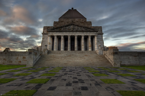 In Memoriam • Shrine of Remembrance • Melbourne