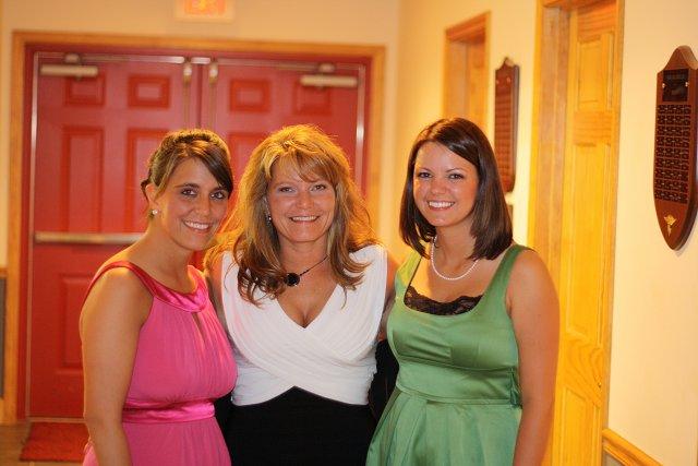 me, mom, & Amanda