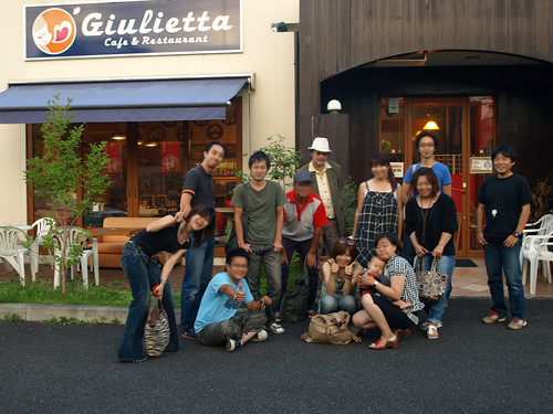 Cafe Giulietta in Ibaraki  [july.25.2009]
