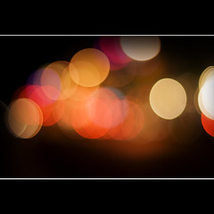 Strip Bokeh MKII (Bright Lights, Vegas Nights) Tags: canon eos lasvegas bokeh tagged thestrip canonef50mm18 niftyfifty hbw rebelxs 1000d