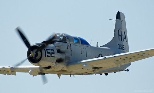 Warbird picture - A-1 Skyraider Sedan