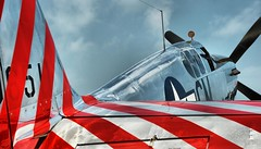 Stripes... (tbower) Tags: ohio history nikon aviation wwii warbirds hdr historicpreservation collingsfoundation nikkor24120vr mapsairmuseum d700 dynamicphotohdr tp51cmustang