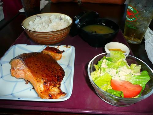 Salmon Teishoku_b
