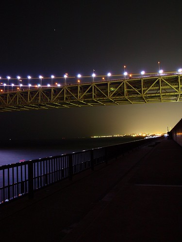 明石大橋 夜景