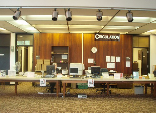 Main Circulation Desk