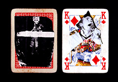 King of Diamonds for no para innita, or God Save the Queen (dou_ble_you) Tags: collaboration doubleyou godsavethequeen kingofdiamonds noparainnita duchampiansnap