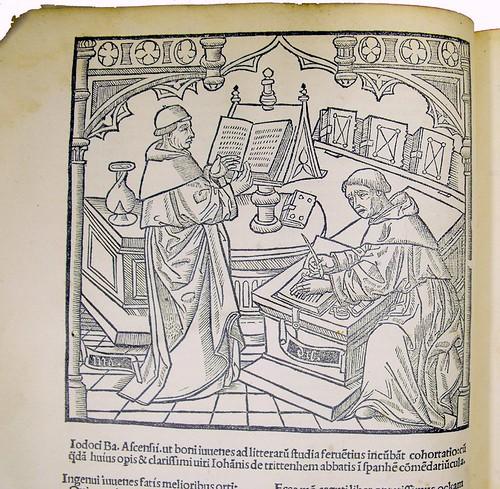 Woodcut from Ockam, Guilielmus: Dialogorum libri septem adversos haereticos