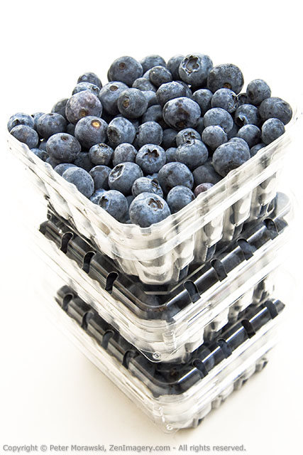 Blueberries from the grocery store