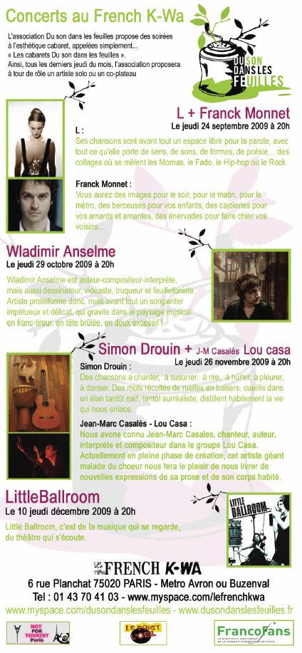 15 10 2009 : KARPATT en session acoustique à l'INTERNATIONAL (PARIS 11è) 3875643524_5dac58a9b6_o
