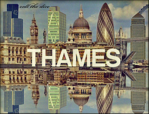 Thames TV`logo by roll the dice.