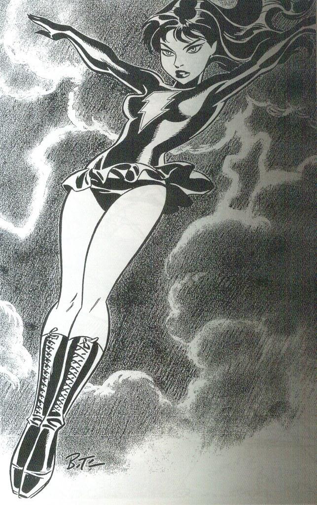 Mary Marvel (Girls: Bruce Timm Sketchbook, 2009)