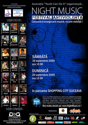 19-20 Septembrie 2009 » Festivalul Antiviolenţă Night Music