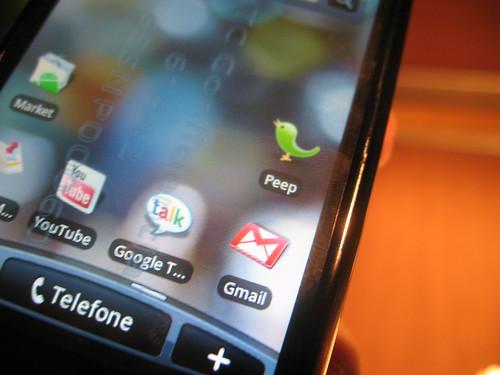 Apresentação do HTC Magic no Brasil