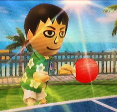Daniel's avatar in Wii Sports Resort