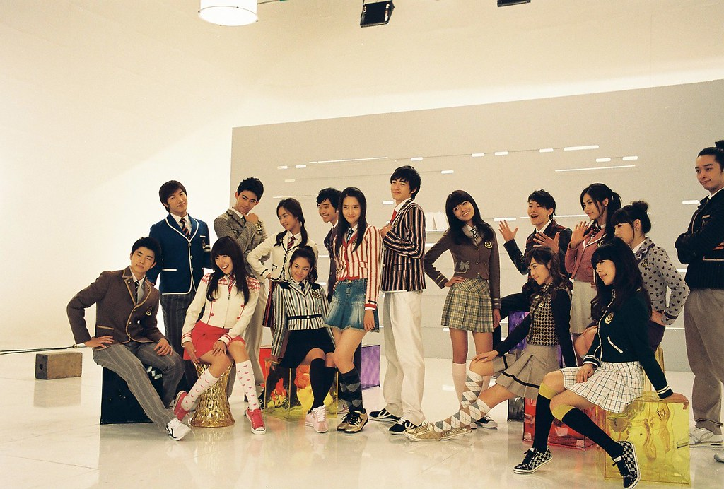 Behind the scene of Girl's Generation TV Ad