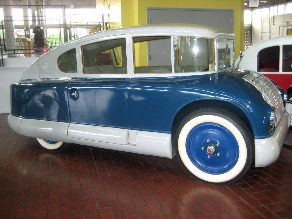Lane Motor Museum - Martin Aerodynamic 1928