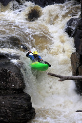 Wet West Paddle Fest - River Moriston (freeskiing) Tags: autumn water river scotland waterfall highlands rocks spray canoe explore kayaking canoeing lochness highlandsofscotland invermoriston rivermoriston wetwestpaddlefest
